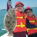 vivck-and-ravi-kiluk-21-inch-flounder-04-01-2013
