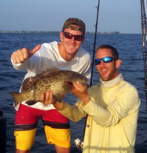 july gag grouper captain aaron lowman