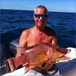 Hog snapper are a great surprise!