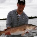Mike with a nice Redfish