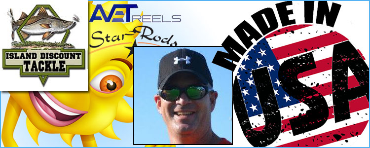 """Island Discount Tackle's """"Made in the USA"""" Sweepstakes Winner!"""