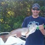 Lots of redfish around.