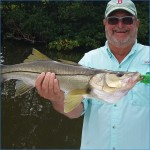 Snook will make you smile.