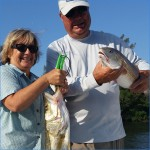 Wow. Snook and redfish!